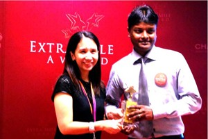 CHANGI AIRPORT EXTRA MILE AWARD – OUTSTANDING OUTLET AWARD 2013-07-17